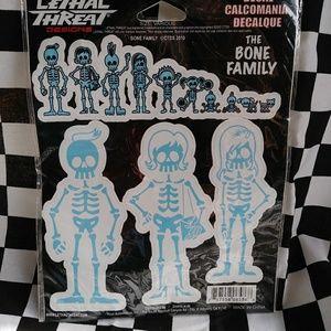 The Bone Family Sticker Decals